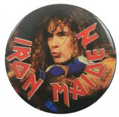 Iron Maiden - 'Steve Harris' 32mm Badge